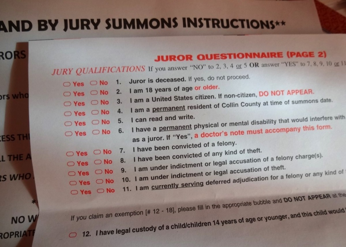 If the juror is deceased, there is no need to appear in court.