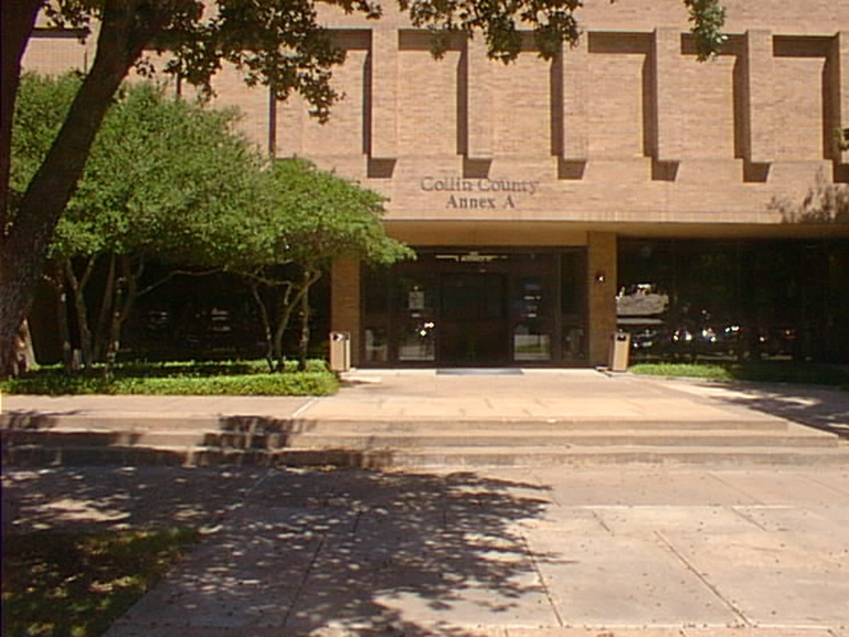 The old Collin County Courthouse