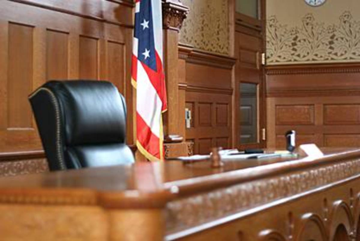 The judge's bench