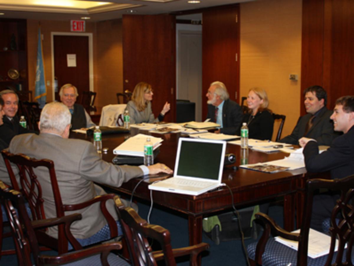 Board Meeting, photo by Areyn