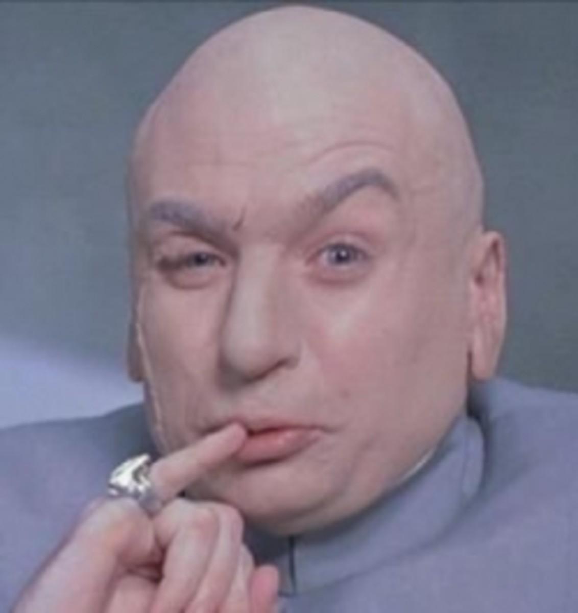 Austin Powers nemisis Dr. Evil