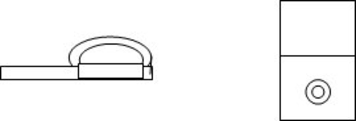 Figure 2: How to fold the pocket tab