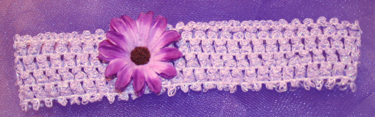 How to Make Your Own Baby Headbands with Flowers for Newborns