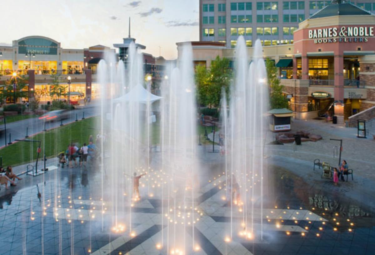 The Gateway Mall in Salt Lake City