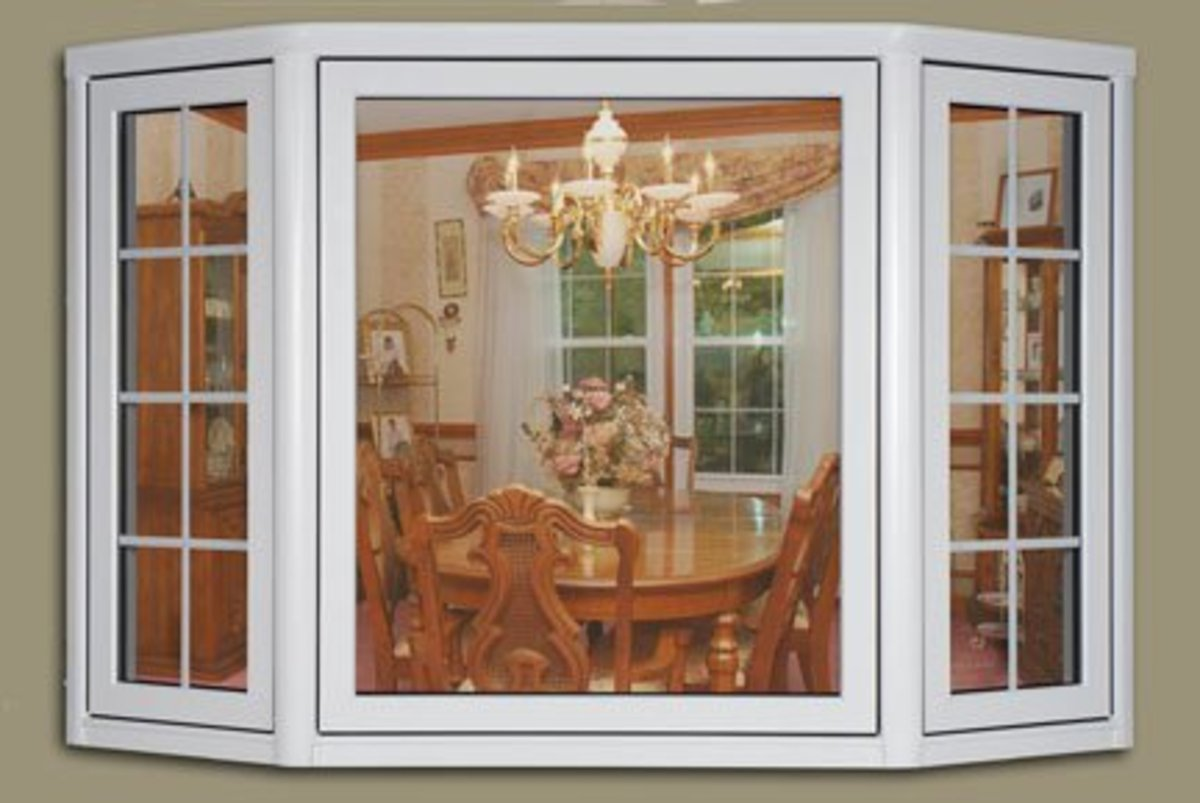 Home improvement with bay windows hubpages for Picture window replacement ideas