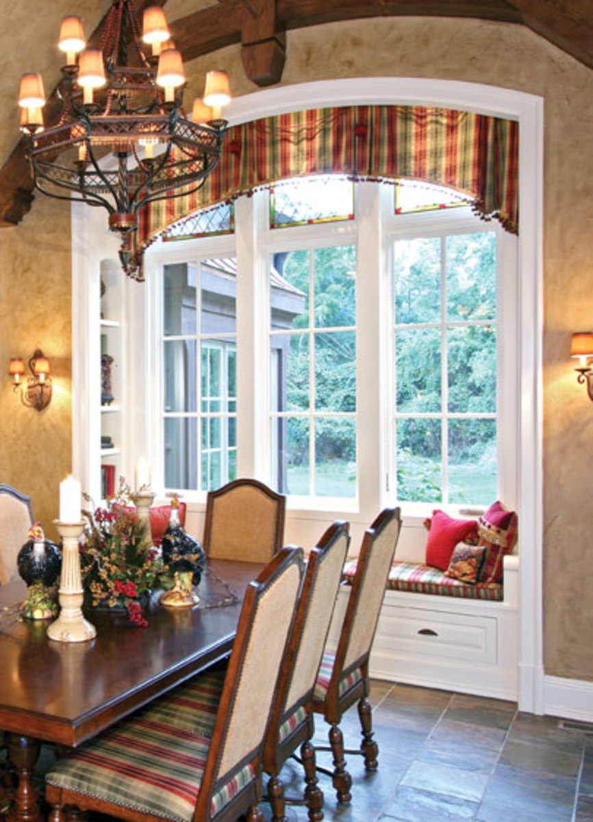 kitchen window treatments on pinterest arched window