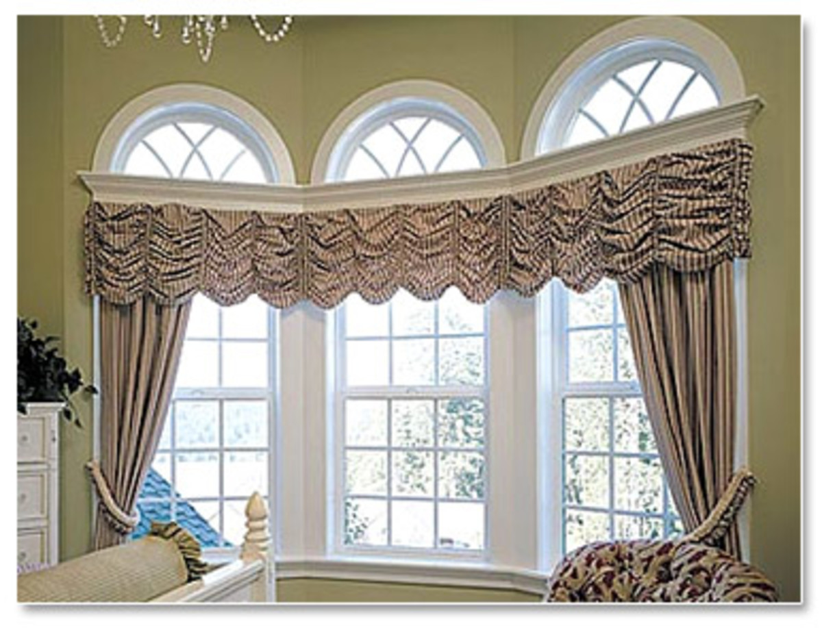 Home improvement with bay windows hubpages for Arched bay windows
