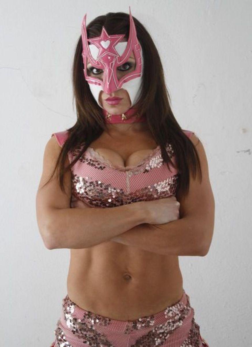 Luchadora Sexy Star - Lucha Libre