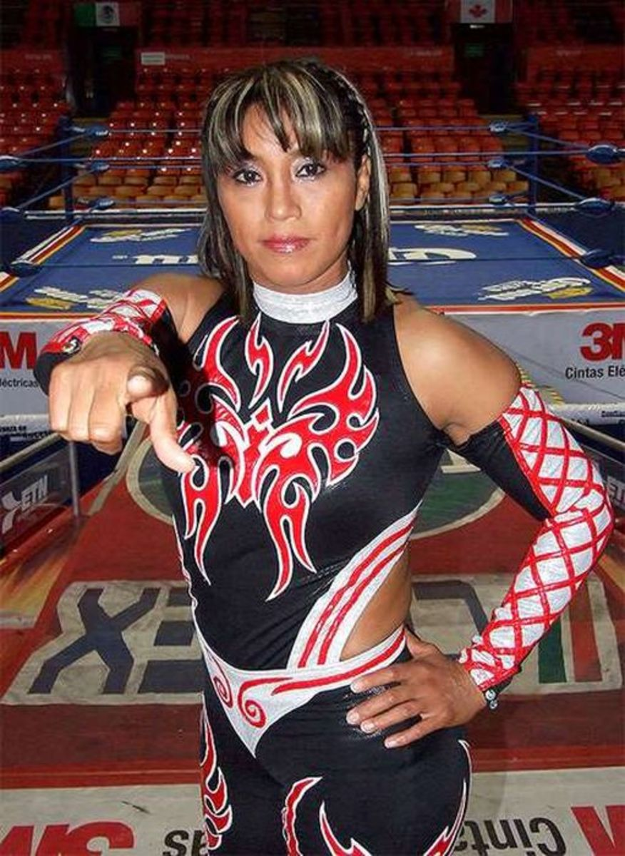 Luchadora Marcela