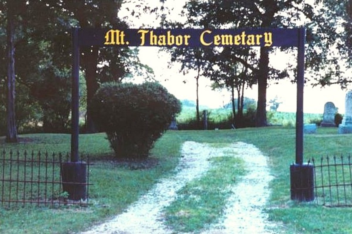 Mount Thabor Cemetery: Crystal Lake, IL