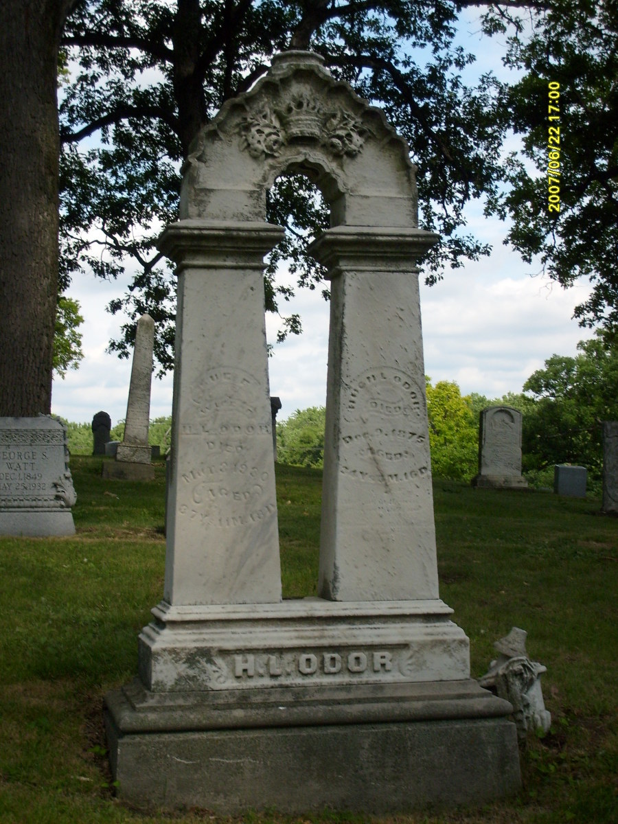"The supposed grave of ""The Greenwood Bride"""