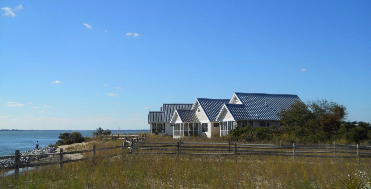 Luxury rental cottages at DE Seashore State Park.