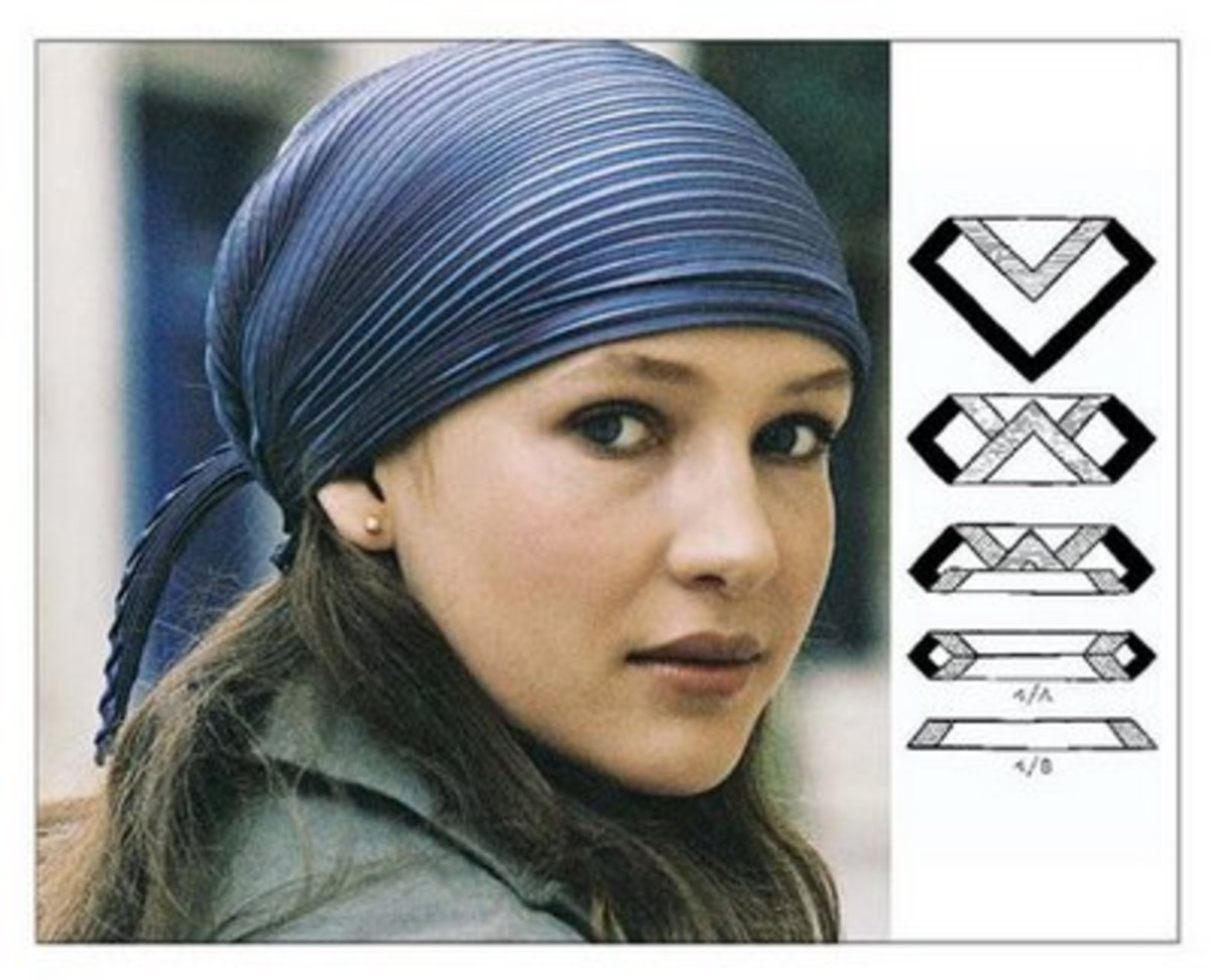 How to tie a scarf and ways to wear with ease