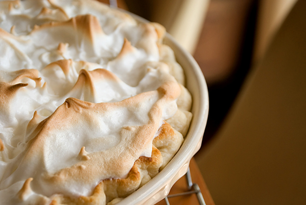 If you want a glorious topping for Butterscotch Pie, try Meringue. It's simple, delicious and easy to do!