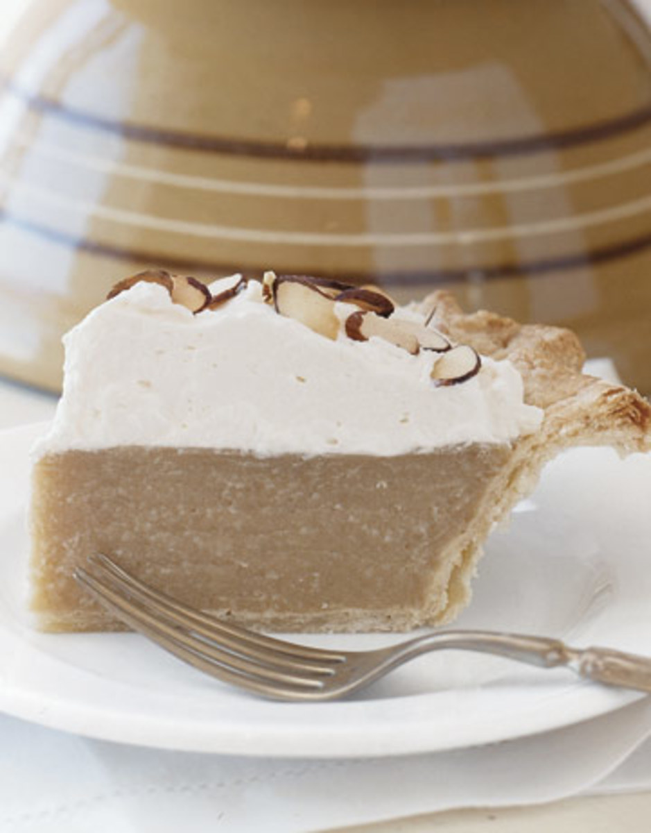 Butterscotch Pie - Best of Both World's Butterscotch Pie