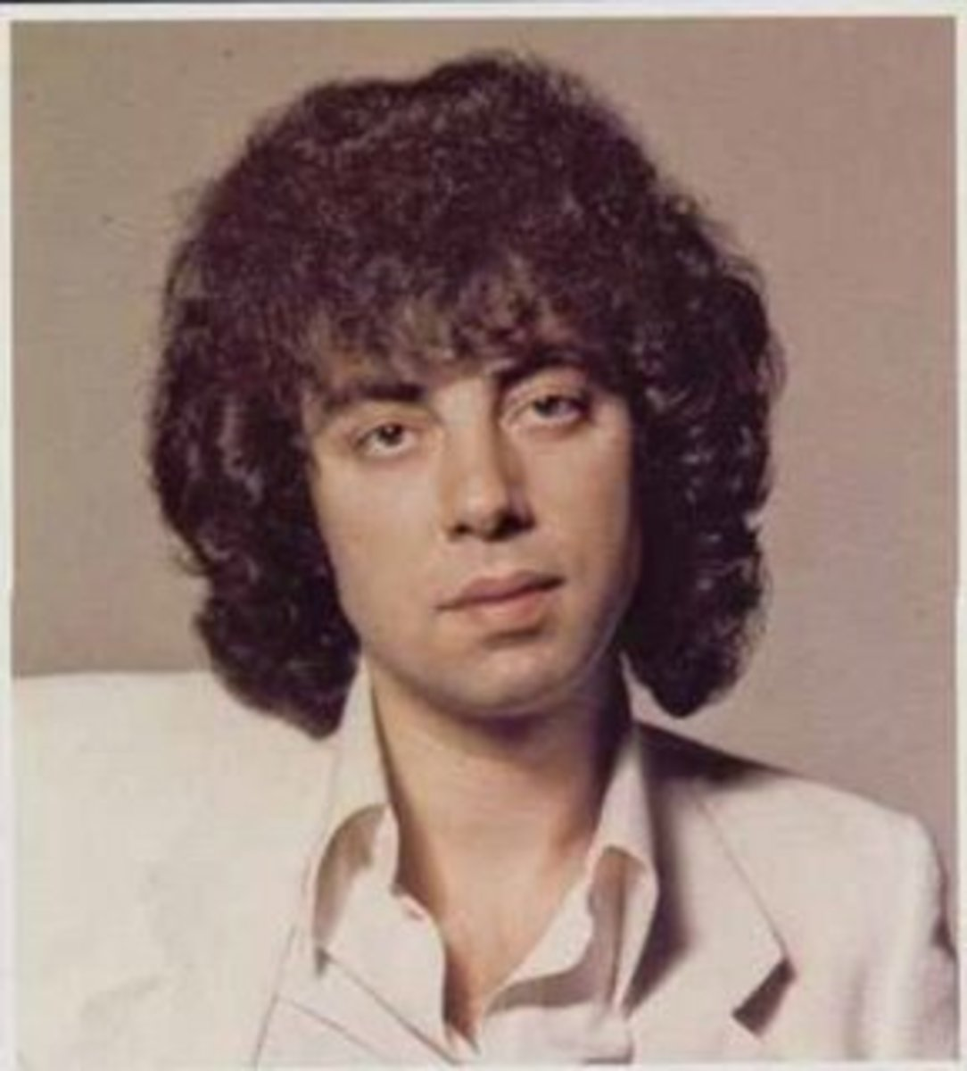 1970's-10CC's Graham Gould...definitely a man-perm