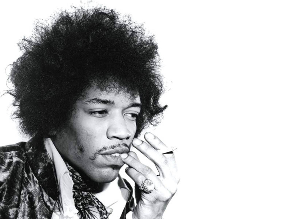 1960's-Jimi Hendrix...ok prob'ly not a perm but I couldn't find one from that era