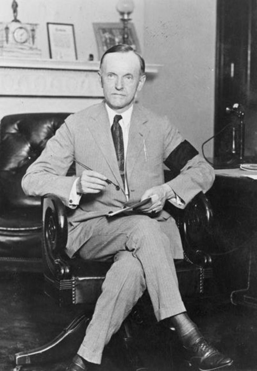 Calvin Coolidge--How Depression Killed a President