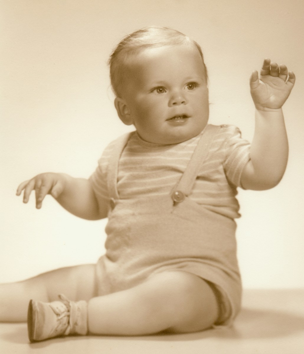 My brother Johnny as he was called back then.