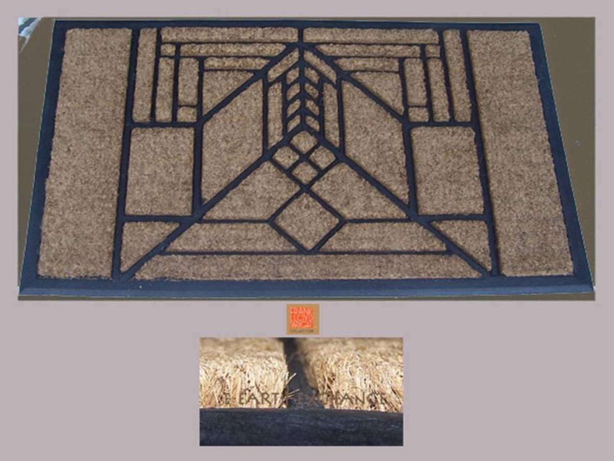 Frank Lloyd Wright Style Doormat Design