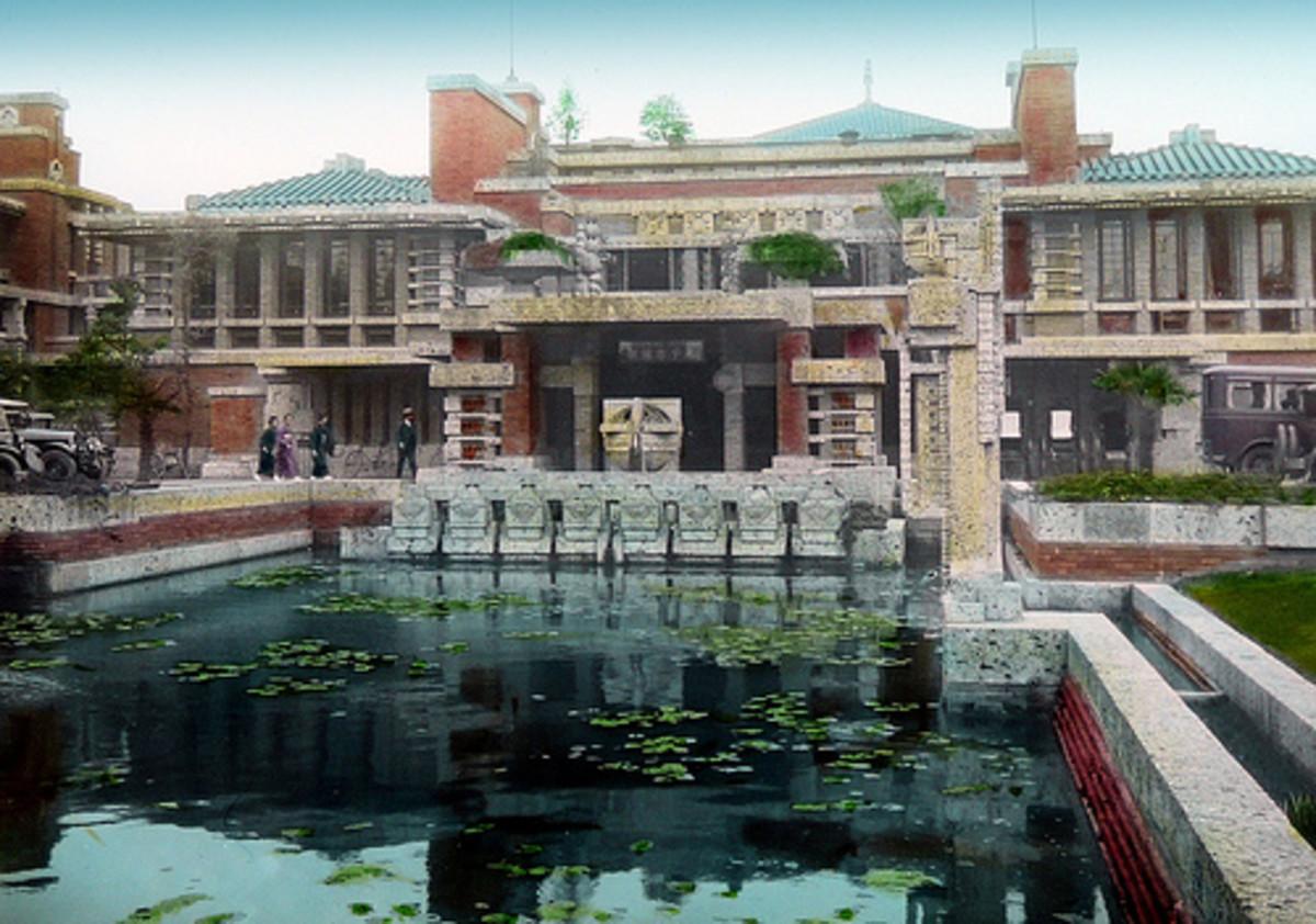Frank Lloyd Wright's Hotels - Lake Geneva Wisconsin and Tokyo Japan