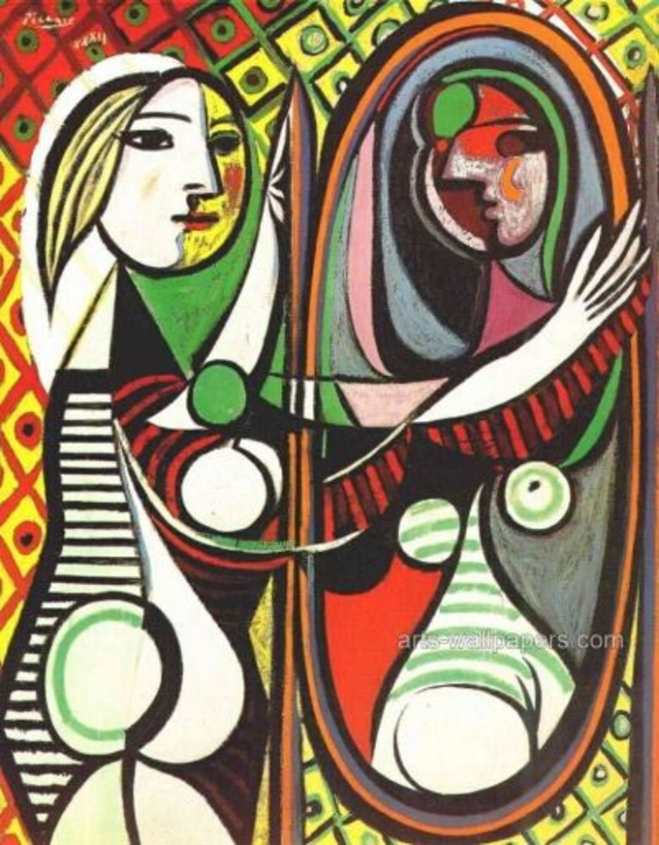 artistic style of Pablo Picasso