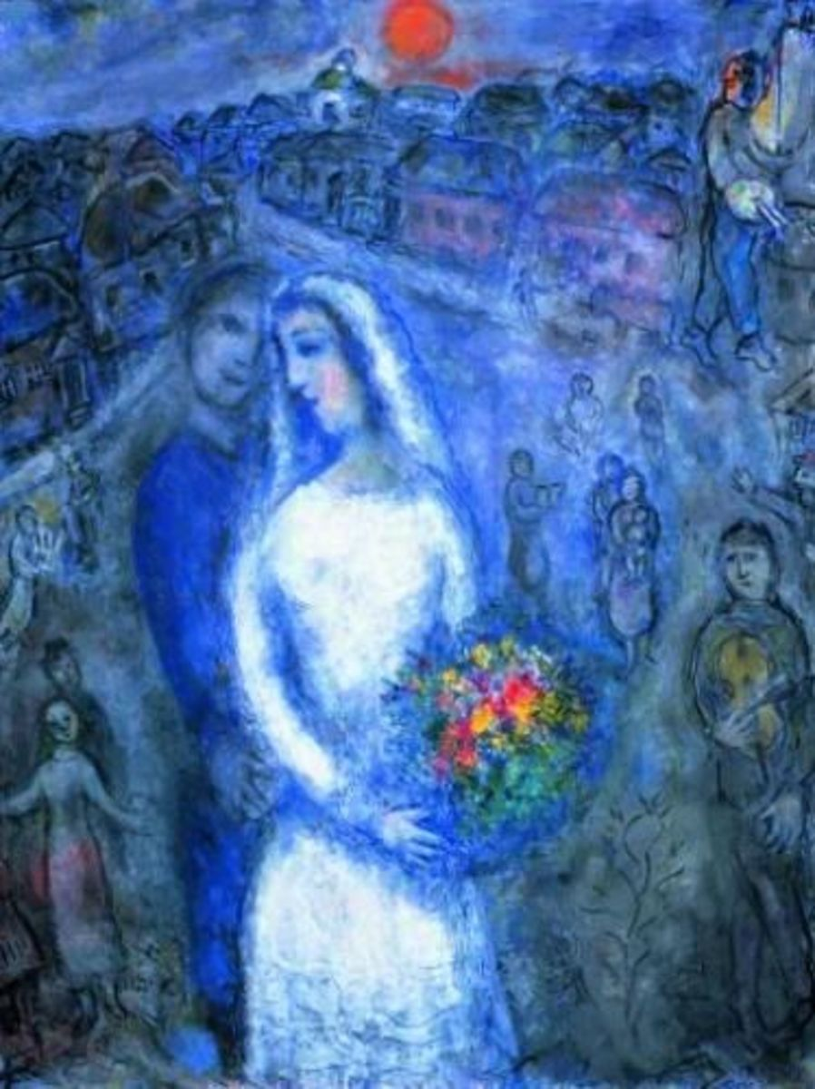 artistic style of Marc Chagall