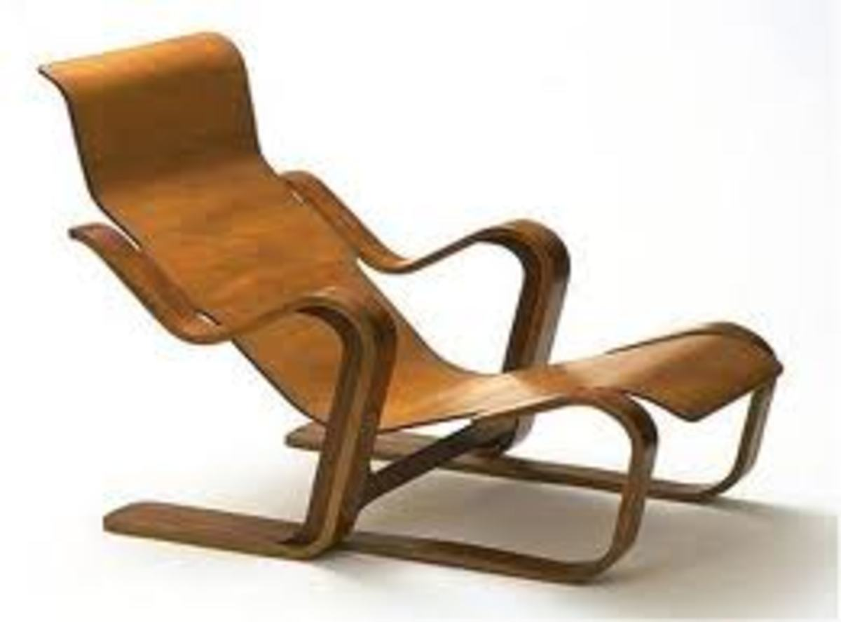 Plywood Chair also by Marcel Breuer