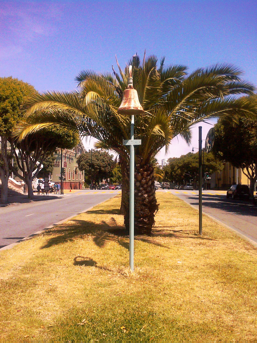 The original El Camino Real bell of Mission Dolores.