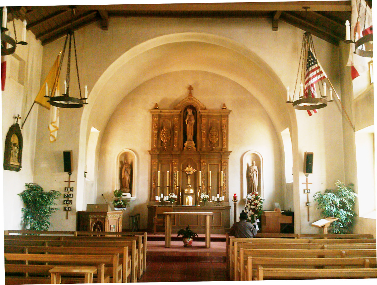 The Arcangel sanctuary, in use today.