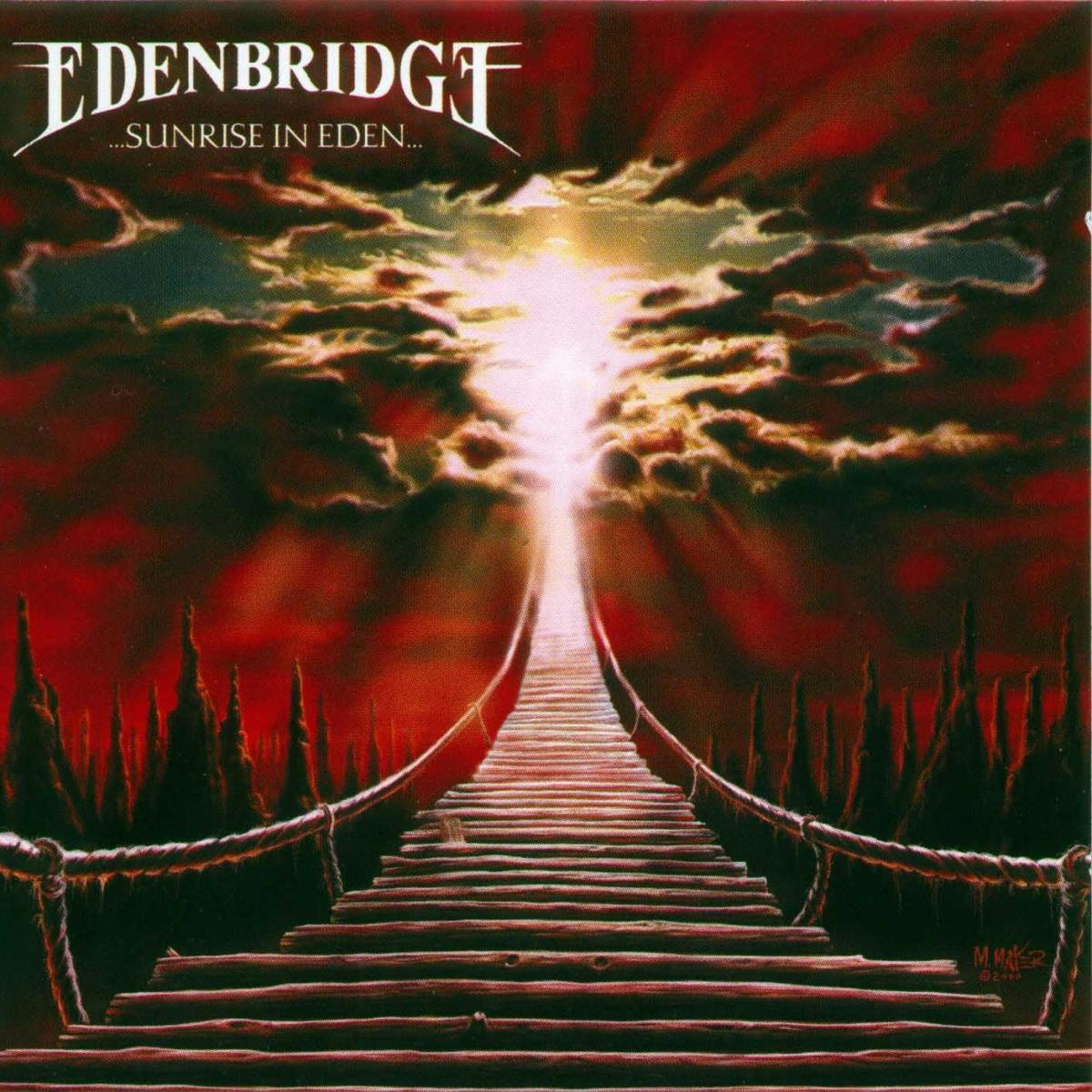 The album cover shows a bridge that leads up to heaven as the sky is opening up. The album may feel like a heavenly experience if you give it a chance.
