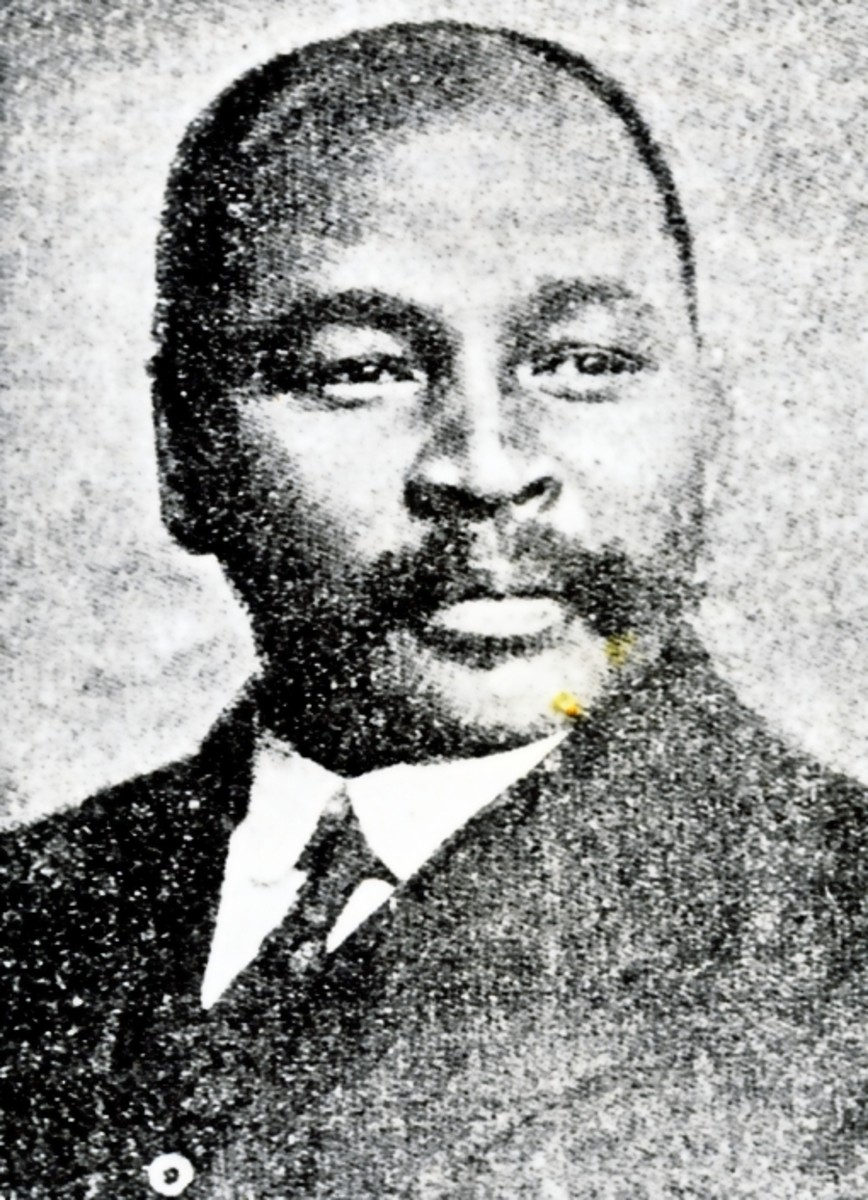 The Reverend John L. Dube who became the first President of the African National Congress