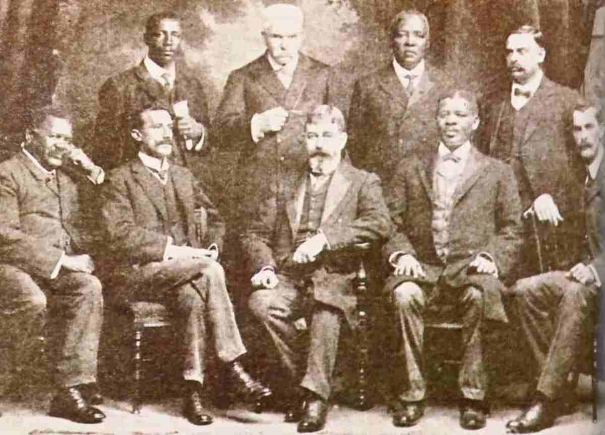 The Schreiner delegation in 1909