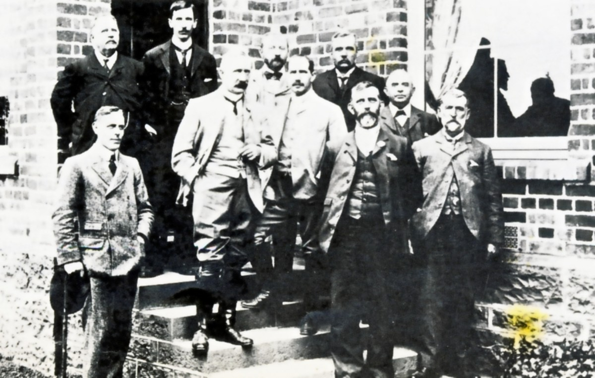 The members of the Lagden Commission