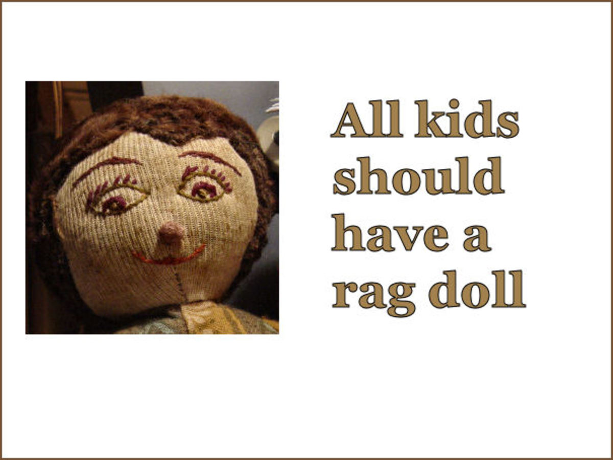 You Can Make a Doll out of Old Raggs