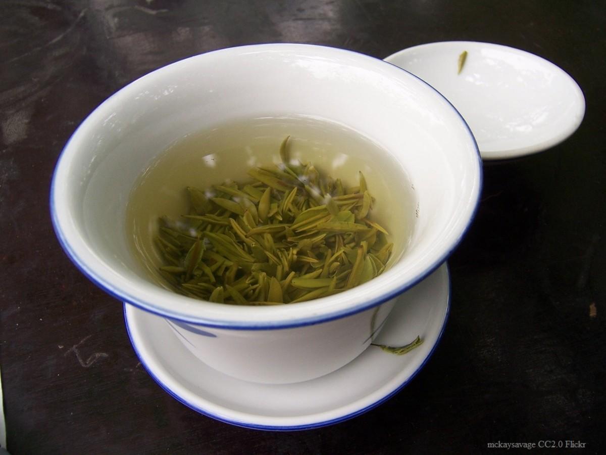 写真:お茶