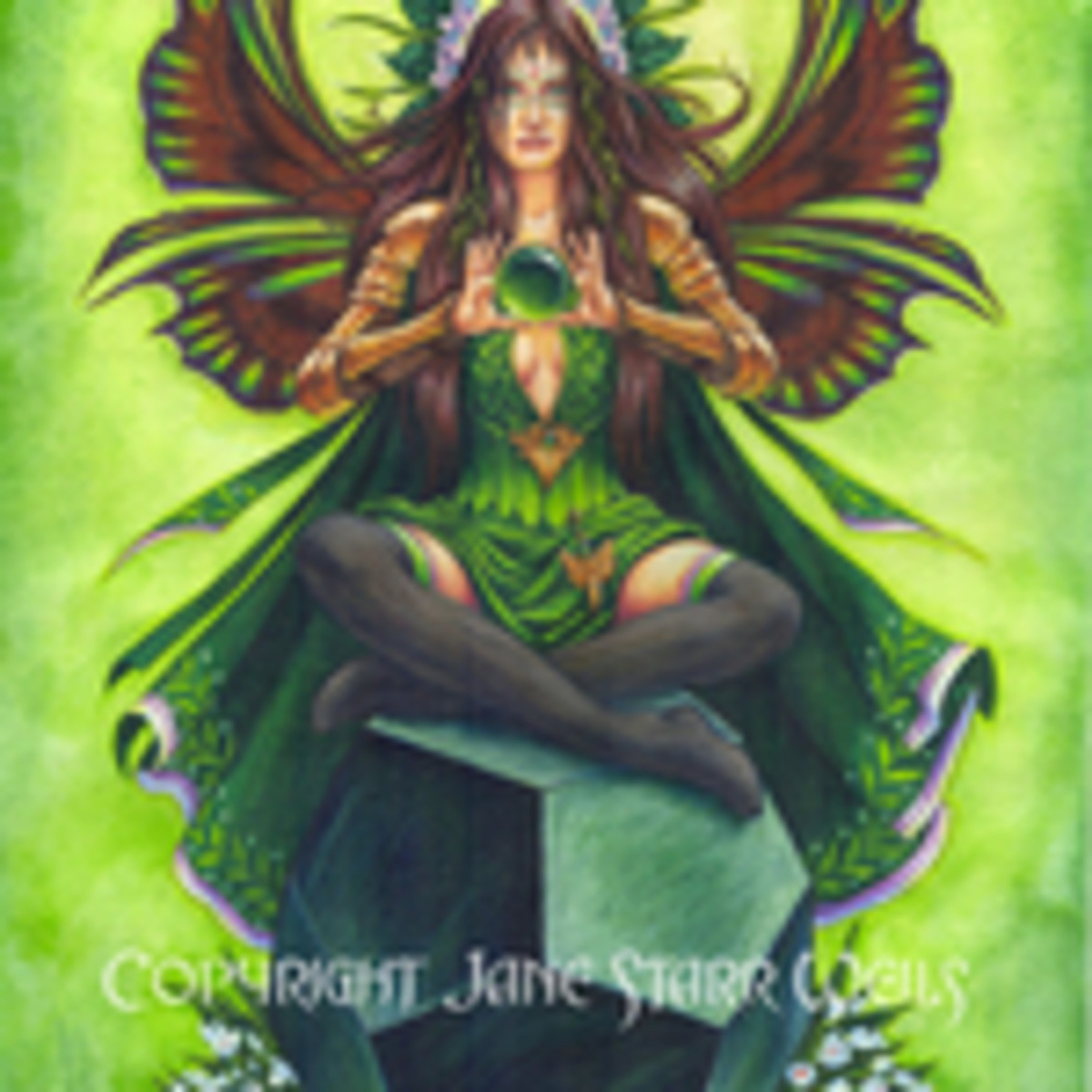 Emerald Fairy Stonekeeper