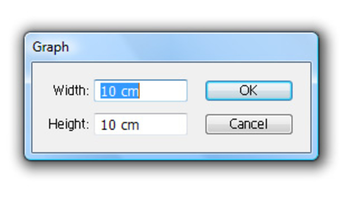 Type in measurements