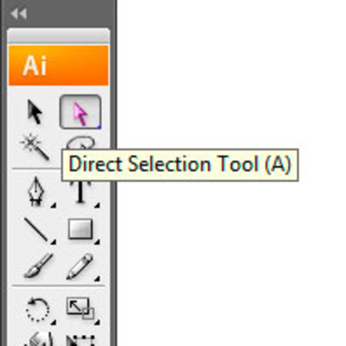 Click on The Direct Selection Tool