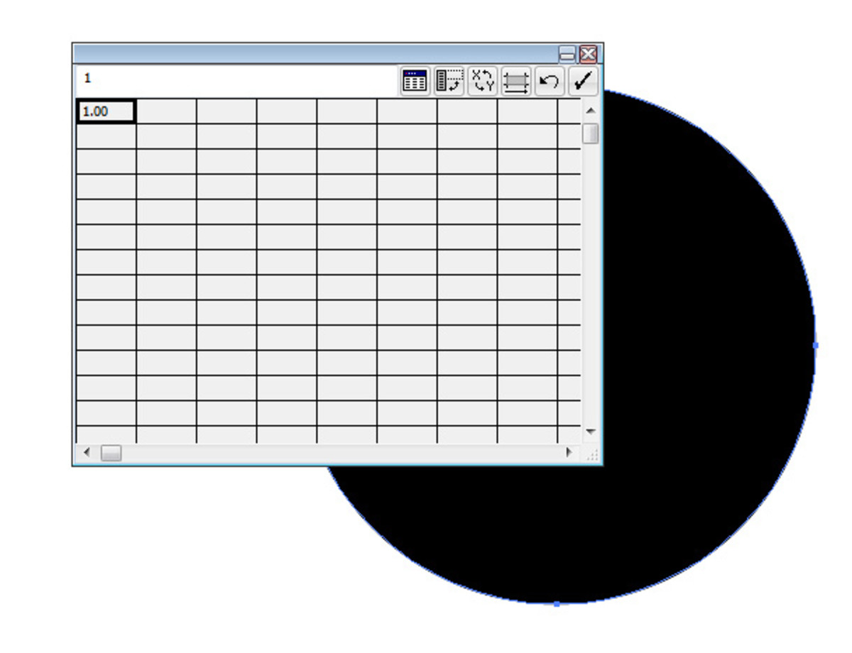 Graph Data Window