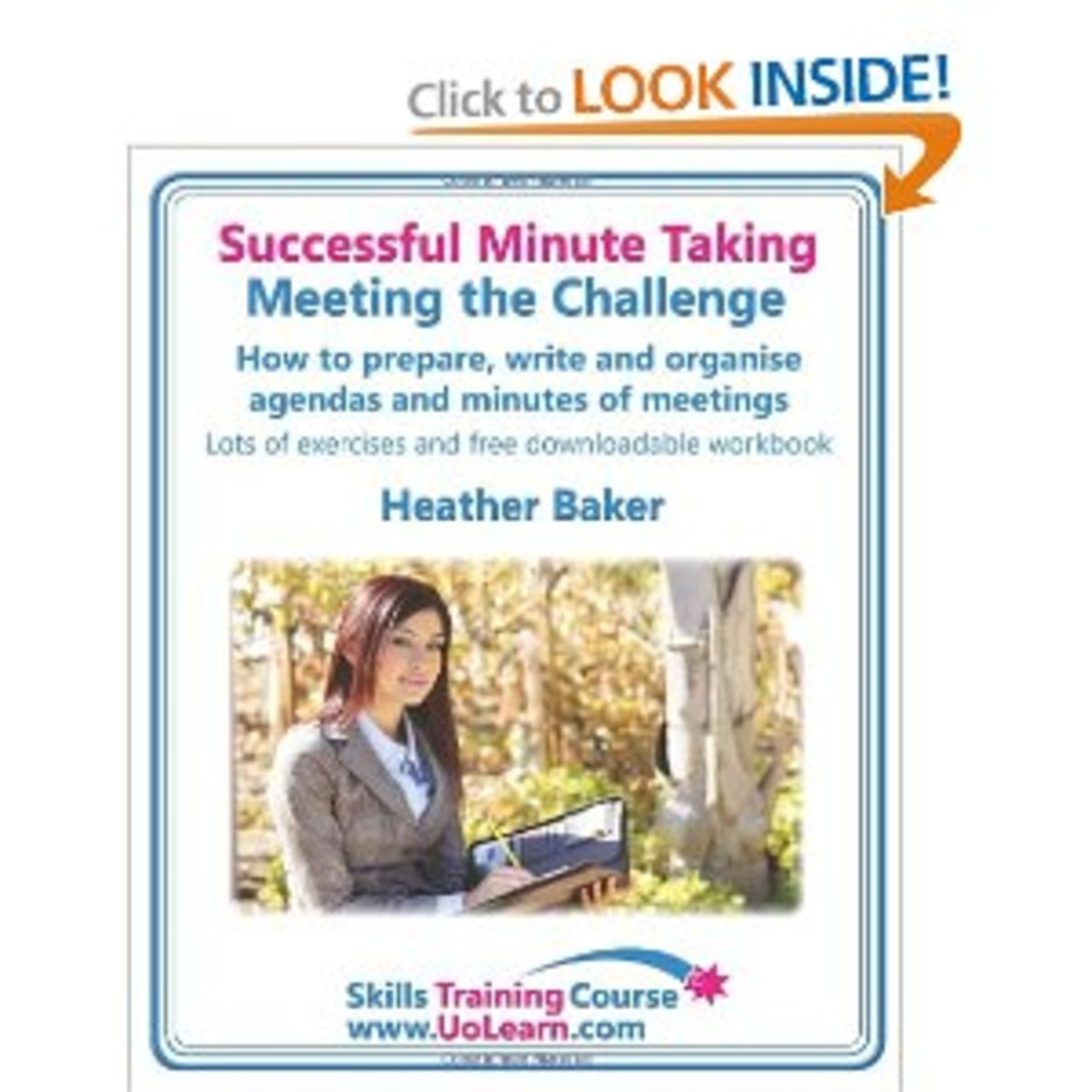 "Buy This Book - ""Prepare, Write And Organize Agendas and Minutes of Meetings"" From Amazon Link Below."