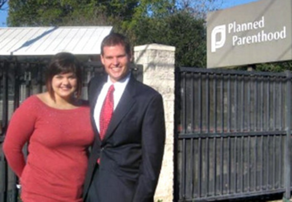 Abby Johnson and Shawn Carney, Coalition for Life Director