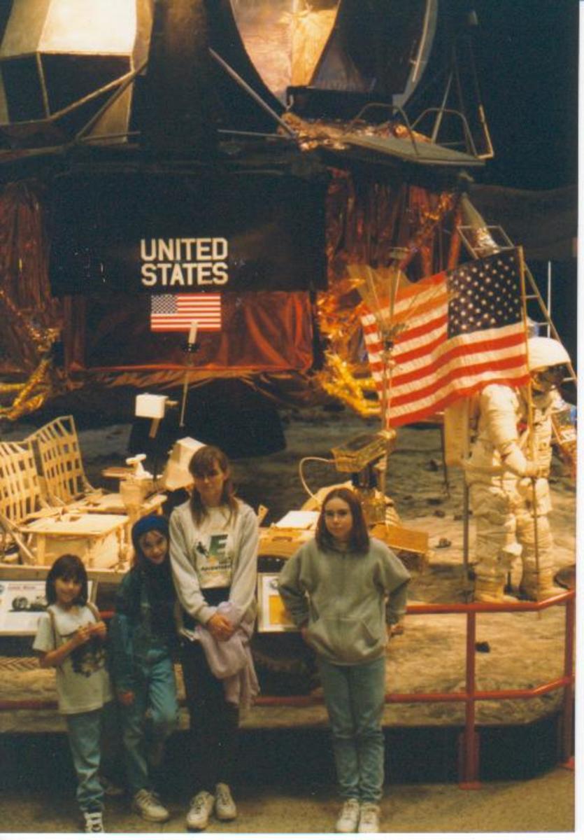 Smiths at the Lunar Lander