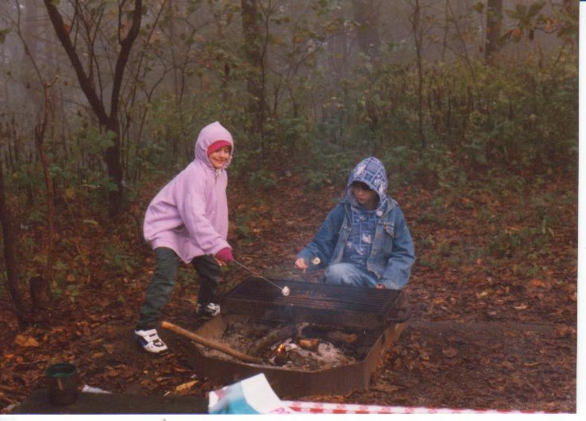 Wet Campsite