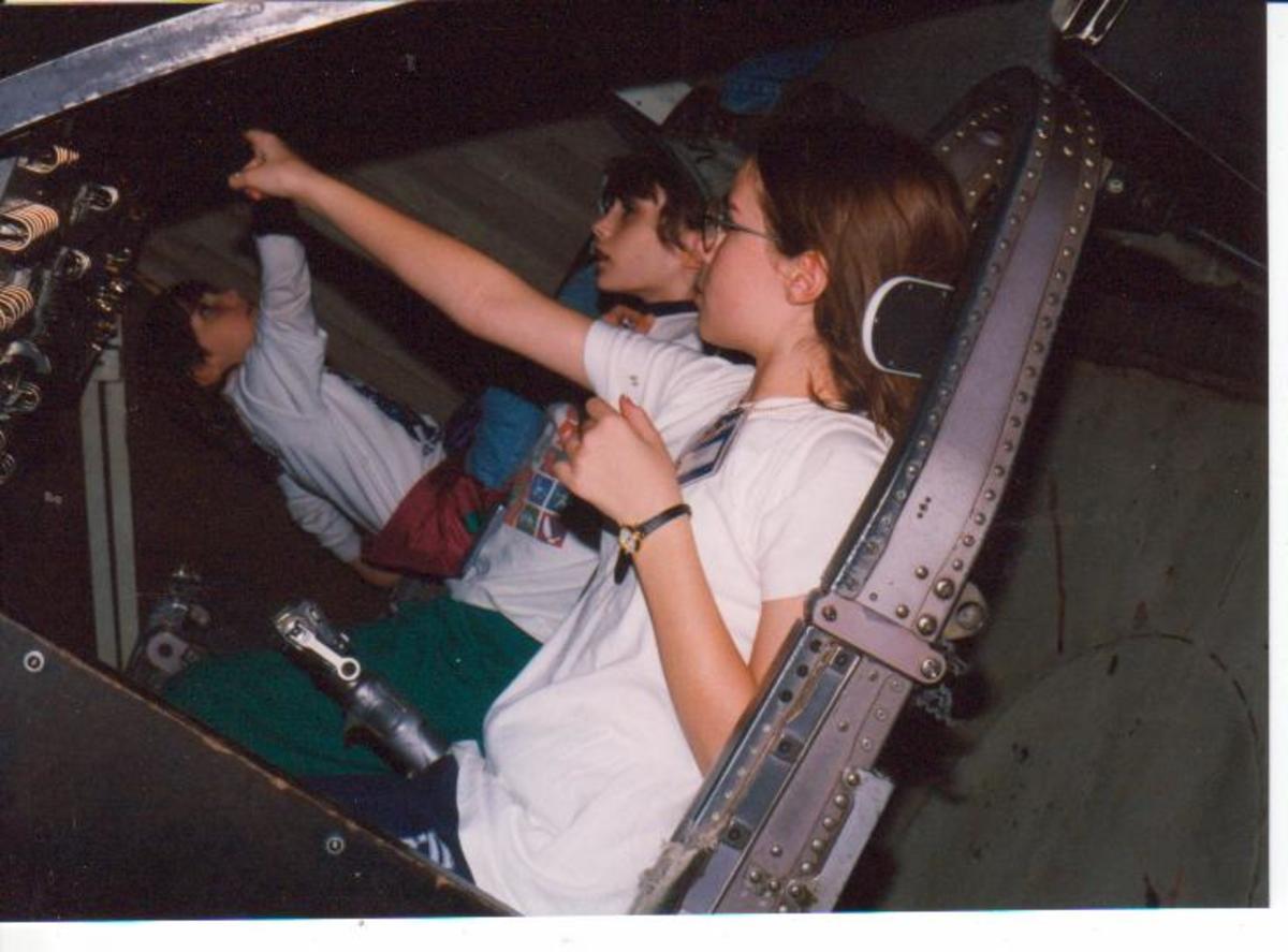 In the Gemini Space Capsule