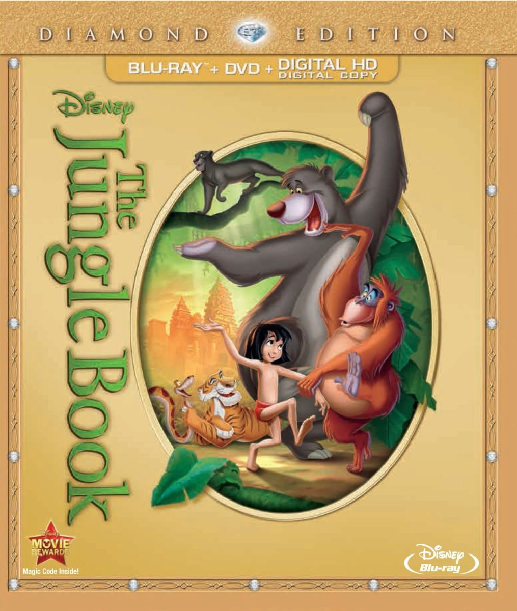 The Jungle Book on Blu-ray and DVD.