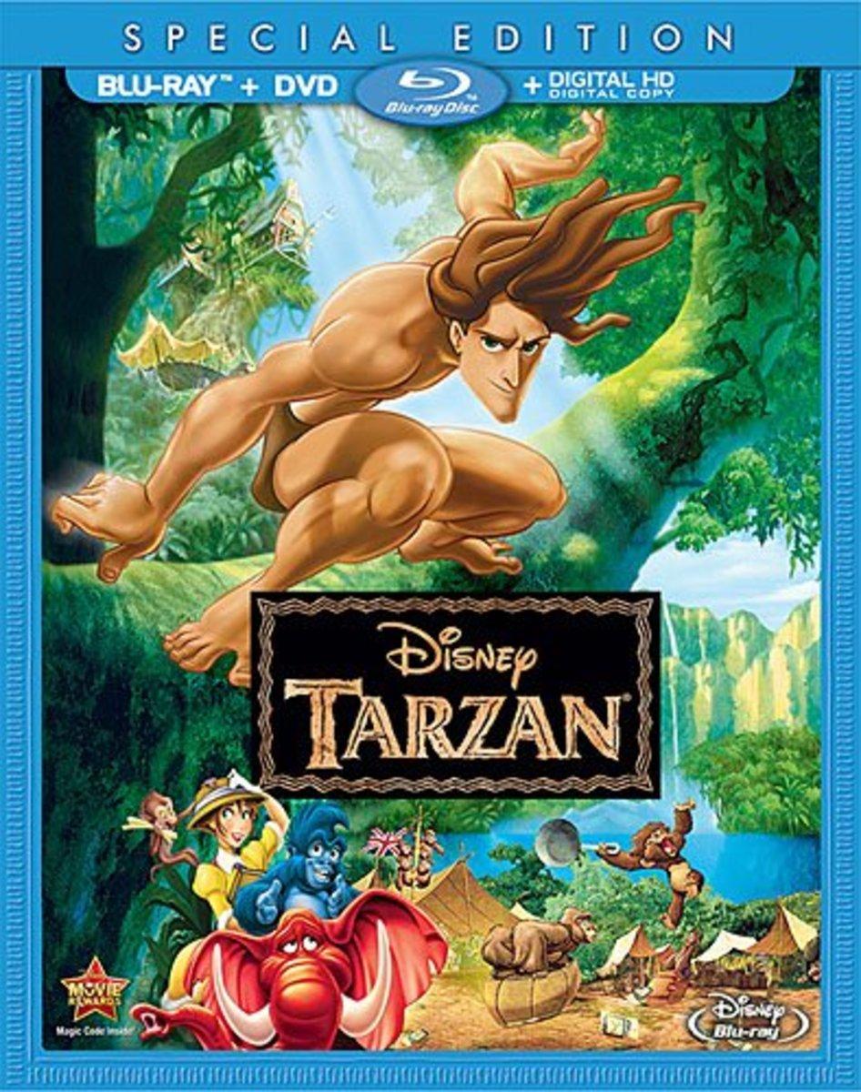 Tarzan Blu-ray Disc