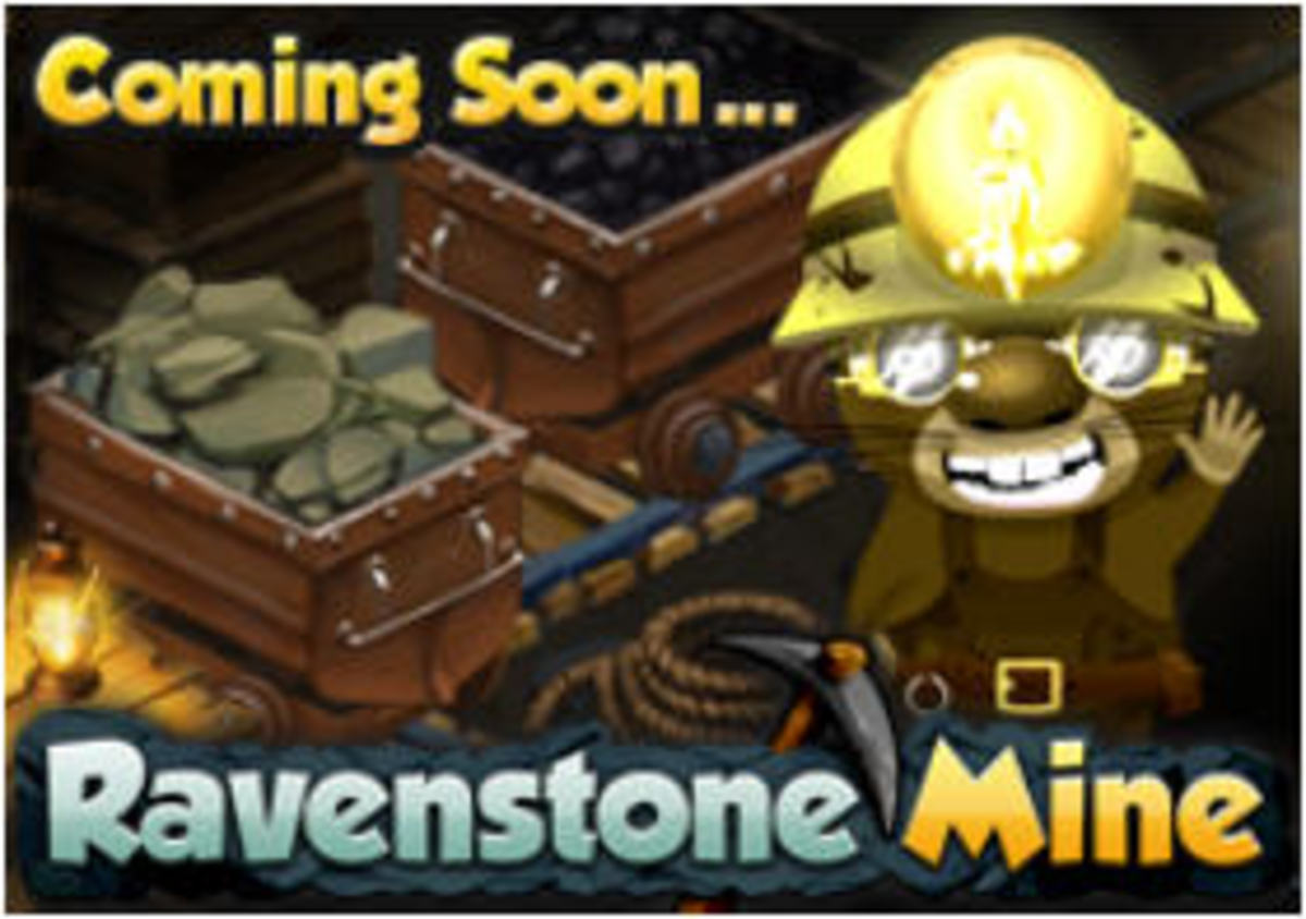 Ravenstone Mine should be the answer to many players wishes for the lack of Crystals. Hopefully this will be another area to gain resources, let's cross our fingers!