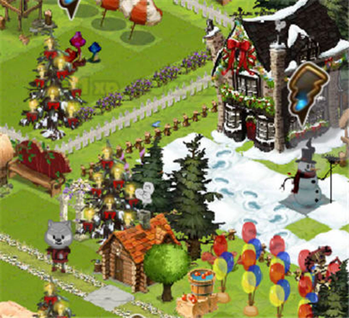 Apple Bob, Briggs (the snowman), and Gads Hill Place are some of the awesome items found in this snapshot.