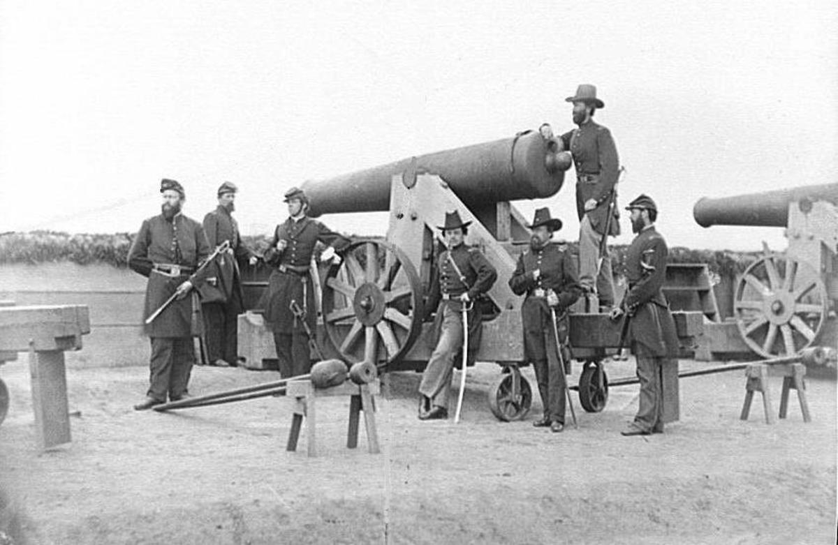 The American Civil War Big Guns